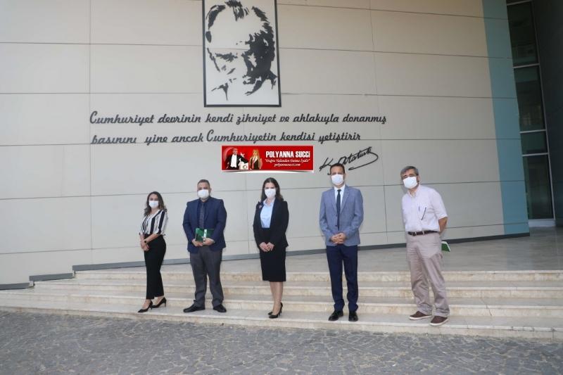 Çukurova Üniversitesi Rektör Prof. Dr.  Meryem Tuncel Mimarlık Fakültesini Ziyaret Etti